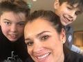 Alena Šeredová má s Gigim Buffonom dvoch synov.
