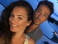 Alena Šeredová s priateľom Alessandrom