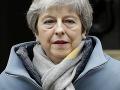 Theresa Mayová vyjadrila obavy: Teraz je na poslancoch, čo bude ďalej s brexitom
