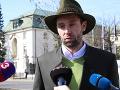 Zástupca lesníckej iniciatívy Odmietame Matúš Hríbik