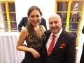 Michal David s dcérou Klárou