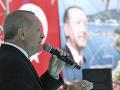 Kontroverzný predvolebný míting Erdogana: Verejnosti premietal zábery z teroru na Novom Zélande