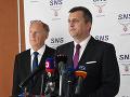 SNS predkladá ďalších deväť zákonov: Nebudeme sedieť so založenými rukami, vyhlásil Danko