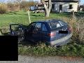 Desivý nález v Tekovských Lužanoch: FOTO V aute našli za volantom mŕtveho muža (†38)