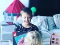 Agáta Hanychová má dve deti - Kryšpína a Miu.