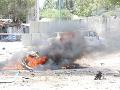 Útočníci odpálili bombu umiestnenú