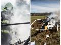Dve obete si vyžiadala havária vrtuľníka v Česku.
