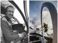Michal bol skúseným záchranárom a pilotom.
