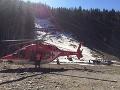 FOTO Horskí záchranári opäť v teréne: Pomáhali paraglajdistovi, ktorý spadol vo Vrátnej
