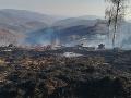 Požiar v Tisovci