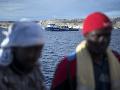 Líbyjská pobrežná stráž zachránila