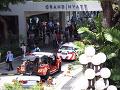 V luxusnom hoteli v Singapure vypukol požiar: VIDEO Evakuovali stovky ľudí