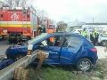 PRÁVE TERAZ Pri Senici sa zrazilo auto s nákladiakom: FOTO Hlásia päť zranených, vodiči pozor