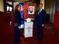 Podpredseda vlády SR pre investície a informatizáciu Richard Raši spolu s manželkou