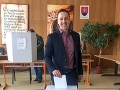 Svoj hlas v prezisentských voľbách odovzdal aj Erik Tomáš