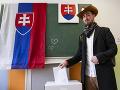 Volič na Nevädzovej v