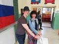 Aj Lucia Ďuriš Nicholsonová odovzdala svoj hlas v prezidentských voľbách.