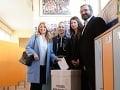 Zuzanu Čaputovú pri volebnom