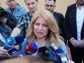 Vyhlásenie Zuzany Čaputovej po volebnom akte.