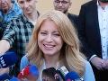 Prezidentské voľby 2019: Zuzana Čaputová si na svoj nástup do funkcie bude musieť počkať