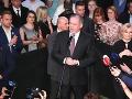 Voľby prezidenta 2019: Zuzane Čaputovej prišiel do štábu zagratulovať aj Andrej Kiska