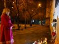 Zuzana Čaputová v noci