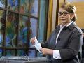 Tymošenková po neúspešných voľbách: Nechce podporiť žiadneho z kandidátov 2. kola volieb
