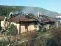 FOTO Dráma v Žiline: Novostavba sa ocitla v plameňoch, okamžitý zásah hasičov