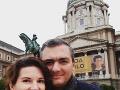 Viki Ráková s partnerom Róbertom vychovávajú syna Bendegúza.