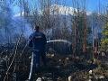 FOTO Vo Vysokých Tatrách horí les: Požiar sa podarilo lokalizovať
