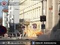 V Bratislave došlo k výbuchu plynu.