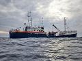 Loď Sea-Watch, ktorá zachránila