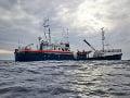 FOTO Migračná kríza je opäť na stole: Humanitárnu loď odmietli, uviazla na mori