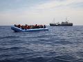 Migrantom na mori išlo o život: Desiatky z nich zachránila nemecká humanitárna organizácia