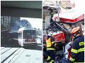 Pri kolízii električky a trolejbusu utrpelo zranenia 40 ľudí.