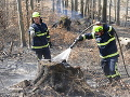 Hasiči likvidovali požiar na Kysuciach.