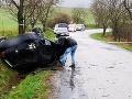Tragédia pri R. Sobote: Michal (†22) zahynul v prevrátenom aute, doplatil na vlastnú chybu?