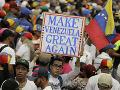 VIDEO Venezuelčania znova vyšli do ulíc: Guaidó chce vystupňovať tlak na Madura