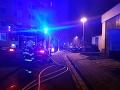 FOTO Tragická noc v Česku: V budove bývalej kotolne zhorelo niekoľko ľudí