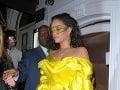 Rihanna vyzerala ako vykŕmený kanárik.