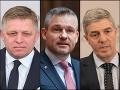 MIMORIADNE Vo veci vydierania Andrej Kisku už vypovedal Pellegrini, Béla Bugár aj Robert Fico