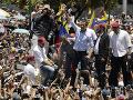 Venezuelská vláda organizuje vlastné demonštrácie: Reaguje na Guaidóvé odobratie imunity