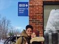 Ešte pred príchodom potomka si Mary a Adrián Bartalosovci užili výlet v USA.