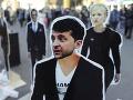 Ukrajina sa chystá na novú éru: Komik a zabávač valcuje aj Porošenka, prieskumy hovoria jasne