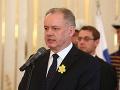 Kontroverzný zákon o štátnych symboloch dostal stopku: Kiska ho vetoval, žiadali to Bugár aj Danko