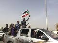 Oslavy demonštrantov v Chartúme