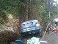 Auto narazilo do stromu. Jedna osoba nehodu neprežila.