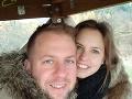Matúš Krnčok je šťastný po boku manželky Niny.
