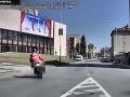 VIDEO Šialená jazda cestného