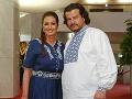 Karin Majtánová s partnerom Petrom stavili na slovenské vzory.